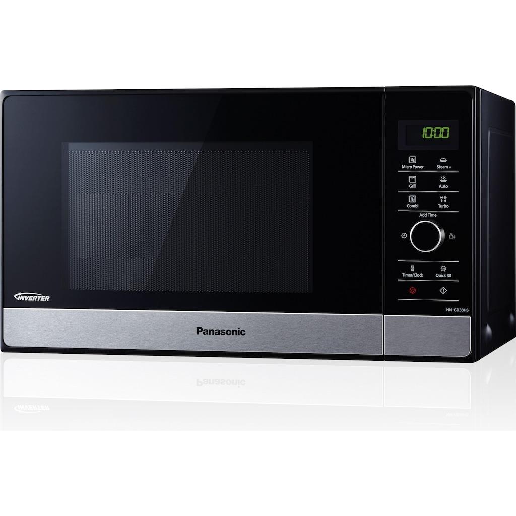 Panasonic Mikrowelle »NN-GD38HSGTG«, Grill, 1000 W