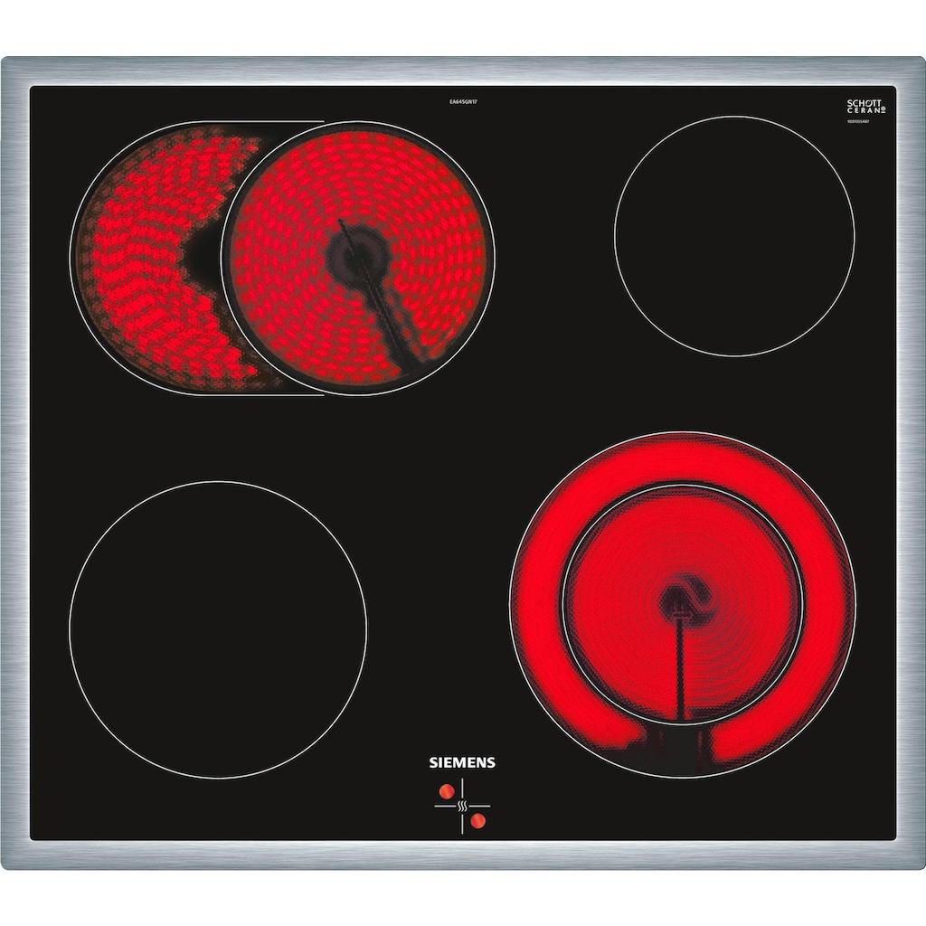 SIEMENS Elektro-Herd-Set »PQ521KB00«, HE578BBS0, Pyrolyse-Selbstreinigung, (Set)