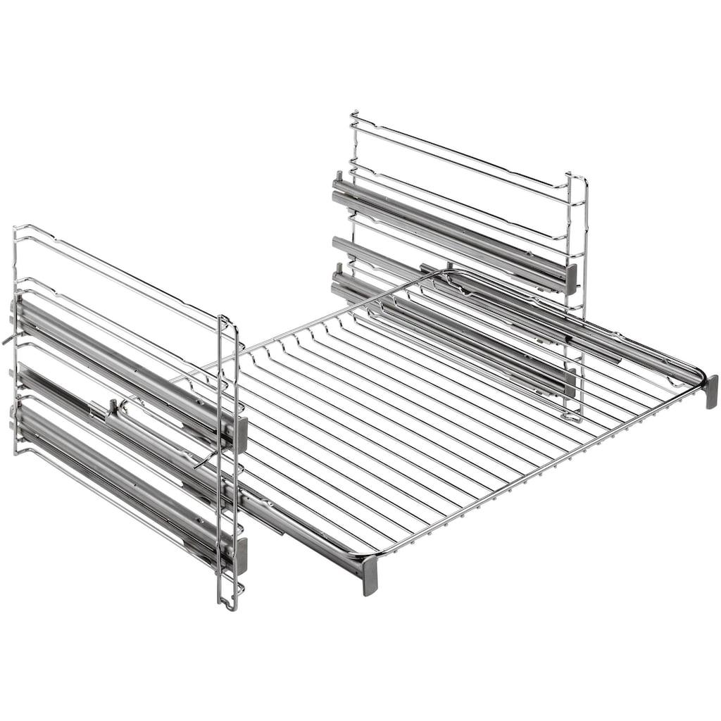 AEG Induktions Herd-Set »HE5346MM51«, EPE555220M, Pyrolyse-Selbstreinigung, (Set), mit Dampfback-Funktion