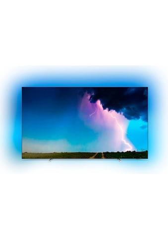 Philips 55OLED754/12 OLED - Fernseher (139 cm / (55 Zoll), 4K Ultra HD, Smart - TV kaufen
