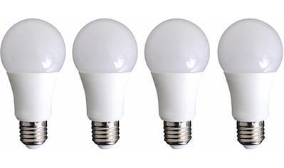 "näve »LED Leuchtmittel E27/9W 4er - Set ""Neo""« LED - Leuchtmittel, E27, Warmweiß kaufen"