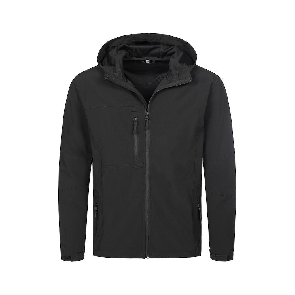 Stedman Softshelljacke »Outdoor Softshell Hooded«, mit Taucherkapuze