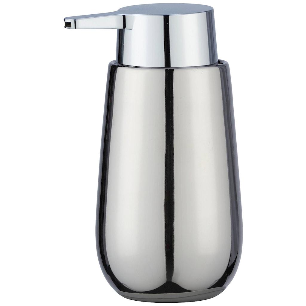 WENKO Seifenspender »Badi«, Keramik, Füllmenge 320 ml