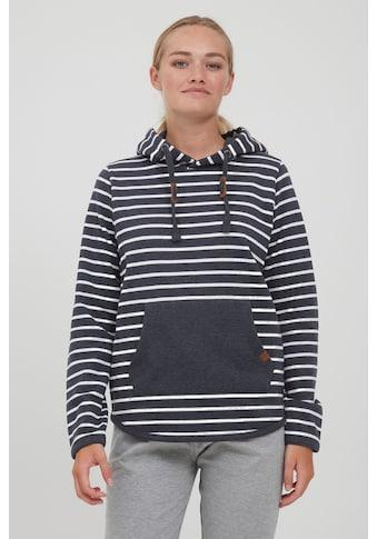 OXMO Hoodie »Carina 21900127ME«, Kapuzenpullover mit Streifen kaufen