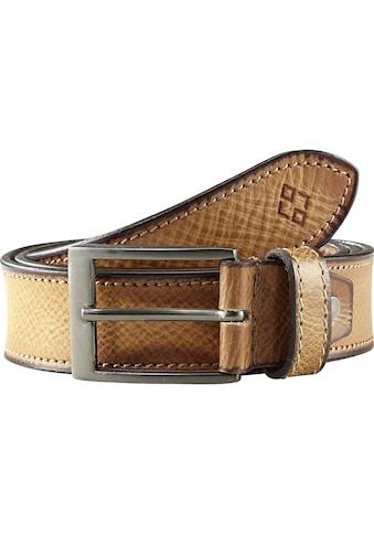 Charles Colby Ledergürtel »LORD ORSON«, aus echtem Leder kaufen