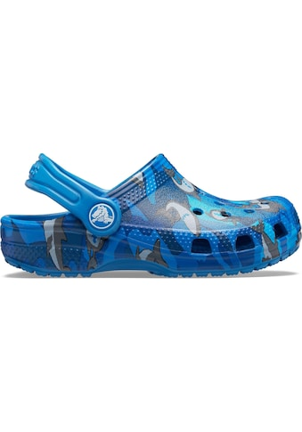 Crocs Clog »Classic Shark Clog«, mit schwenkbarem Fersenriemen kaufen