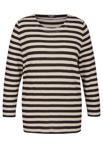 VIA APPIA DUE Sweatshirt, mit Allover-Ringeln kaufen
