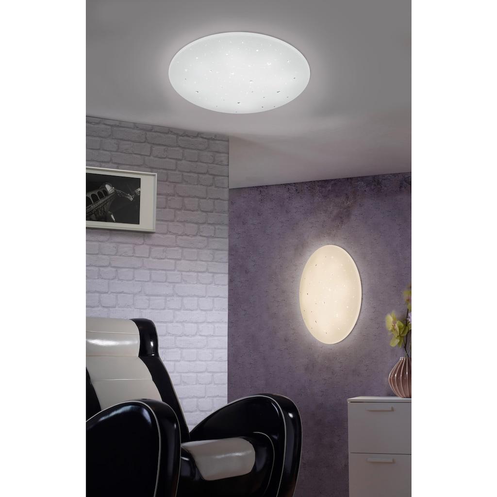 TRIO Leuchten LED Deckenleuchte »Achat«, LED-Board, Warmweiß-Neutralweiß-Tageslichtweiß, Fernbedienung,integrierter Dimmer,Lichtfarbe stufenlos einstellbar,Nachtlicht,Starlight-Effekt,Memory Funktion