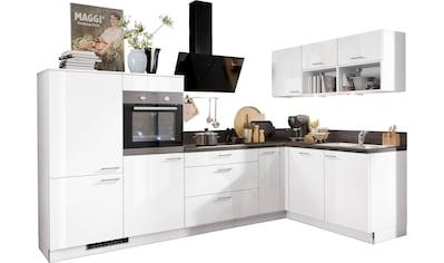 Express Küchen Winkelküche »Scafa«, ohne E - Geräte, Stellbreite 305 x 185 cm kaufen