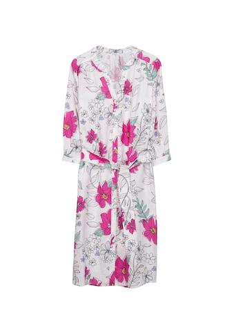 seidensticker Sommerkleid »Schwarze Rose«, 3/4-Arm V-Neck Floral kaufen
