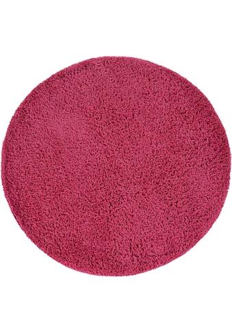 Paco Home Hochflor-Teppich »Sky 250«, rund, 35 mm Höhe, gewebt, Uni Farben, intensive... kaufen