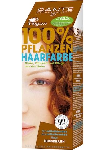 SANTE Haarfarbe »Pflanzenhaarfarbe nussbraun« kaufen