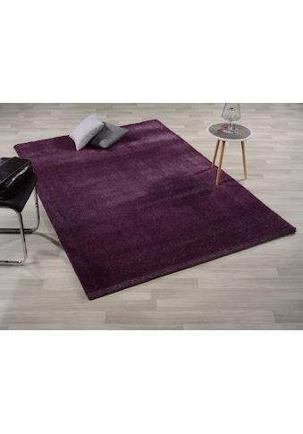 GALLERY M branded by Musterring Hochflor-Teppich »Solo«, rechteckig, 30 mm Höhe,... kaufen