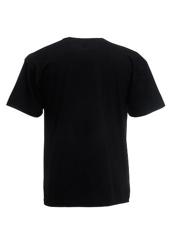 Fruit of the Loom V-Shirt »Valueweight T-shirt für Männer mit V-Ausschnitt, kurzärmlig« kaufen