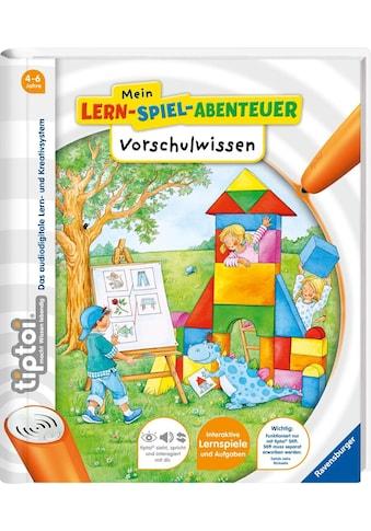 Ravensburger Buch »tiptoi® Mein Lern-Spiel-Abenteuer, Vorschulwissen«, Made in Europe kaufen