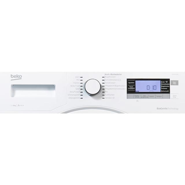 BEKO Wärmepumpentrockner DE8535RX0, 8 kg