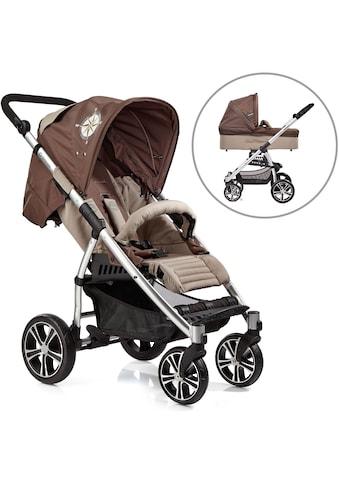 Gesslein Kombi-Kinderwagen »S4 Air+, Eloxiert/Nautik & Babywanne C3 Nautik« kaufen