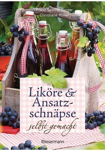 Buch »Liköre und Ansatzschnäpse selbst gemacht / Franz Severin Berger, Christiane Höller« kaufen