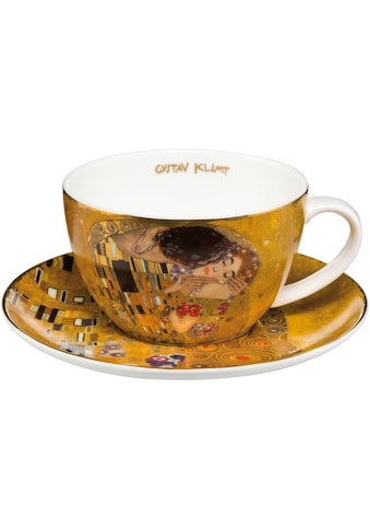 Goebel Cappuccinotasse »Der Kuss«, goldfarben kaufen