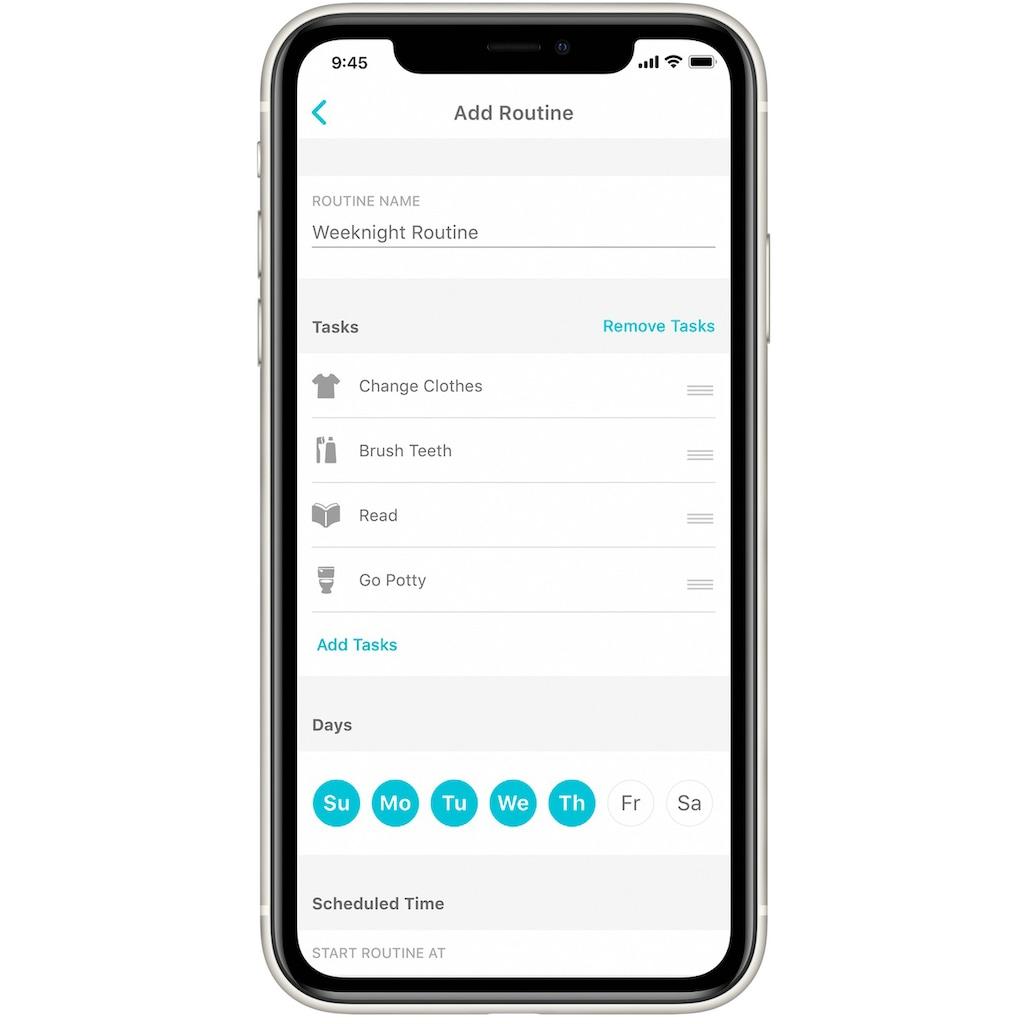 Fisher-Price® Nachtlicht »Lumalu Schlafassistent«, mit App-Funktion
