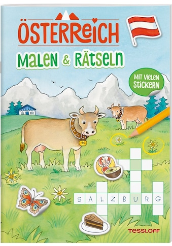 Buch »ÖSTERREICH. Malen &amp, Rätseln / Corina Beurenmeister, Tessloff Verlag Ragnar Tessloff GmbH & Co.KG« kaufen
