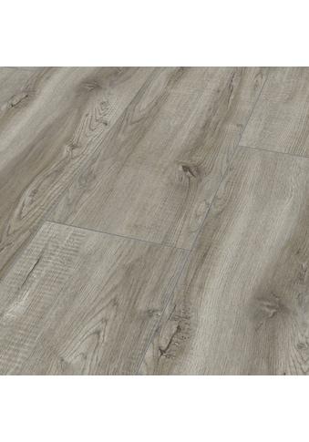 BODENMEISTER Laminat »Dielenoptik Eiche grau rustikal«, Landhausdiele 1380 x 244 mm, Stärke: 8 mm kaufen