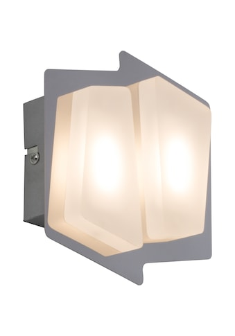 Brilliant Leuchten Block LED Wand -  und Deckenleuchte 2flg chrom/weiß kaufen