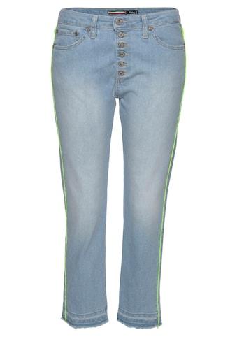 Please Jeans 7/8-Jeans »P36H«, mit seitlicher Neon-Paspellierung kaufen