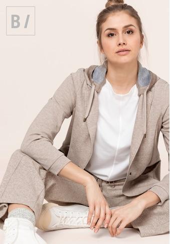 bianca Jerseyblazer »INDIRA«, in angesagter melange Optik aus Baumwolljersey kaufen