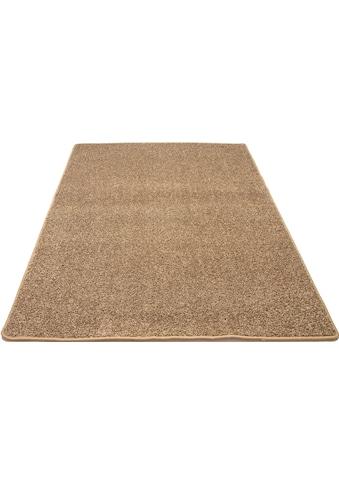 Teppich, »Shaggy uni«, Andiamo, rechteckig, Höhe 15 mm, maschinell getuftet kaufen