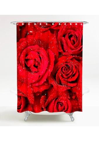SANILO Duschvorhang »Rosen«, 180 x 200 cm kaufen