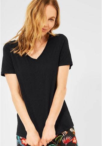 Cecil V-Shirt, in Unifarbe kaufen