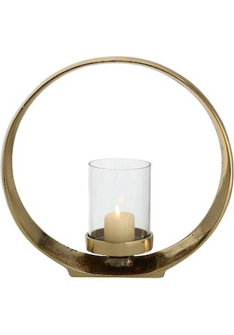 BOLTZE Windlicht »Rolond«, aus Aluminium und Glas kaufen