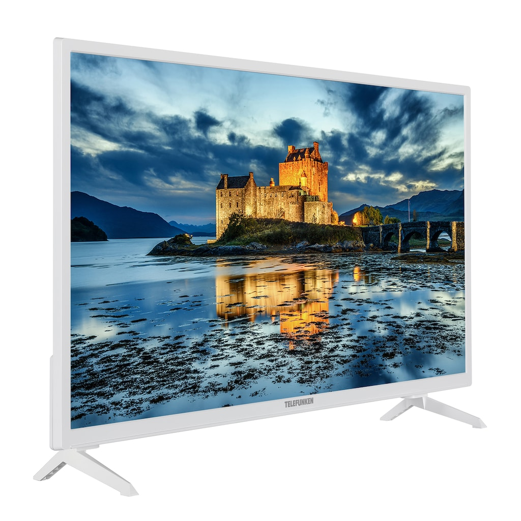 "Telefunken LED-Fernseher »XH32J511-W«, 80 cm/32 "", HD-ready, Smart-TV"