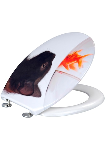 WENKO WC - Sitz »Fish & Cat« kaufen