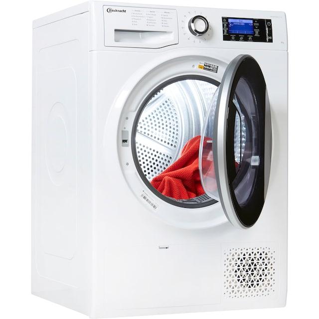 BAUKNECHT Wärmepumpentrockner T Sense D 8X3E DE, 8 kg