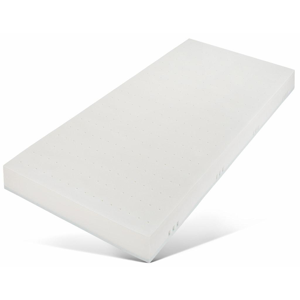 SonnCo Visco-Matratze »Cansas«, 20 cm cm hoch, (1 St.), Bezug mit kühlender Sommerseite und kuschlig warmer Winterseite