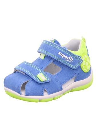 Superfit Sandale »Freddy WMS Weiten-Messsystem: mittel«, mit geschlossenen Fußbereich kaufen