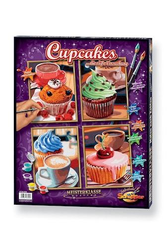 Schipper Malen nach Zahlen »Meisterklasse Quattro - Cupcakes«, Made in Germany kaufen