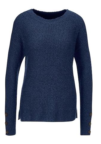 Classic Basics Pullover mit Seitenschlitze kaufen