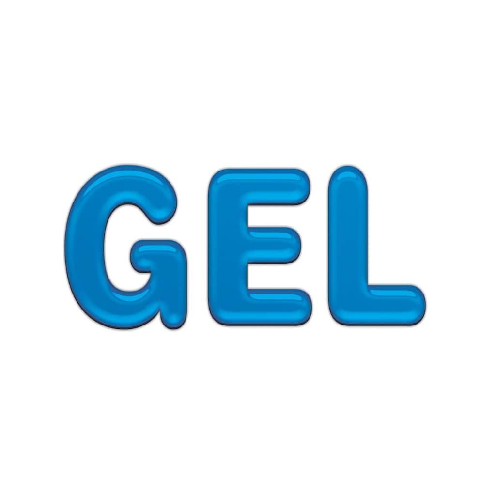 my home Gelschaummatratze »GEL 16«, 16 cm cm hoch, Raumgewicht: 30 kg/m³, (1 St.), mit ca. 4 cm hoher druckentlastender, offenporiger Gelschaumauflage