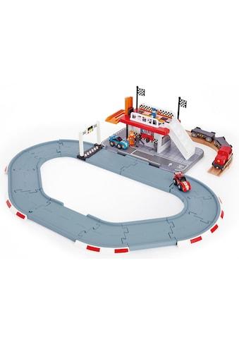 Hape Spielzeug-Eisenbahn »Rennstrecken-Station« kaufen