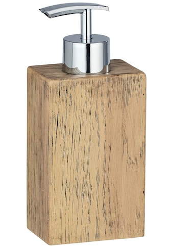 WENKO Seifenspender »Marla«, Holzoptik kaufen