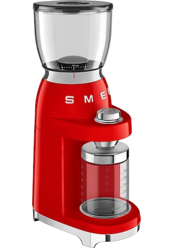 Smeg Kaffeemühle »CGF01RDEU«, 150 W, Kegelmahlwerk, 350 g Bohnenbehälter kaufen