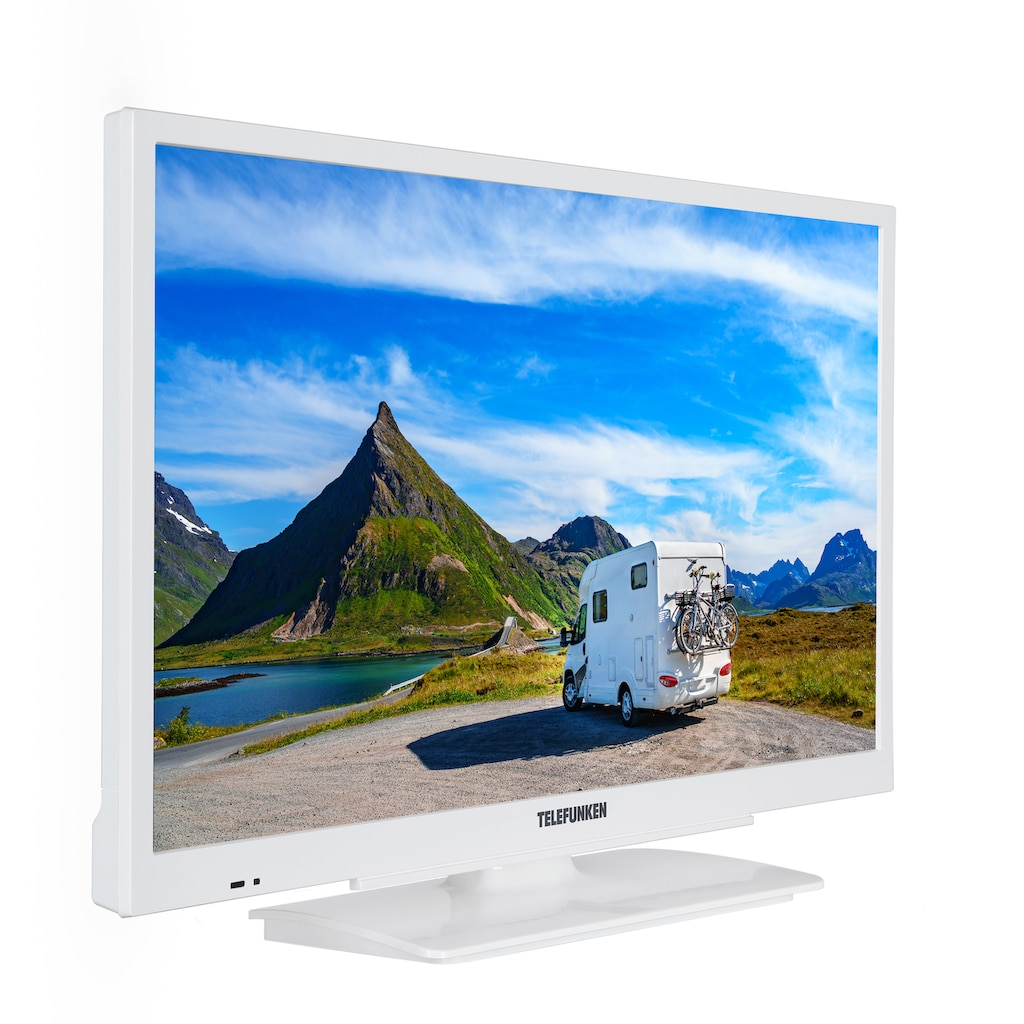 "Telefunken LED-Fernseher »XF22G501V-W«, 55 cm/22 "", Full HD, Smart-TV"