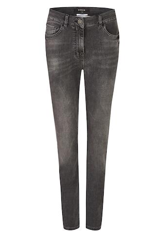 FRAPP Vielseitige Basic-Jeans mit Used-Waschung kaufen