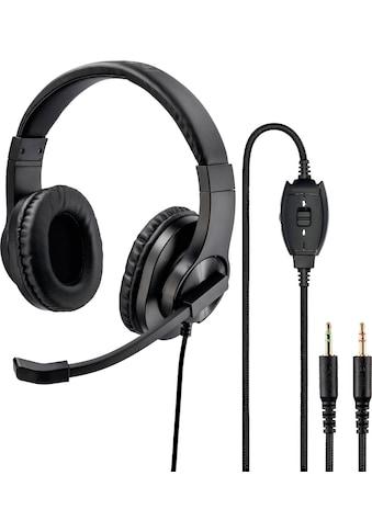 """Hama Over-Ear-Kopfhörer »PC-Office-Headset """"HS-P300""""« kaufen"""