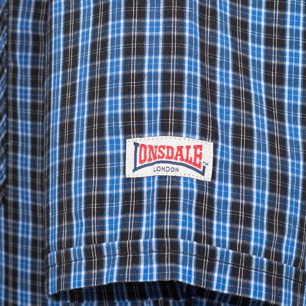 Lonsdale Kurzarmhemd »BRIXWORTH«, im Karo-Look