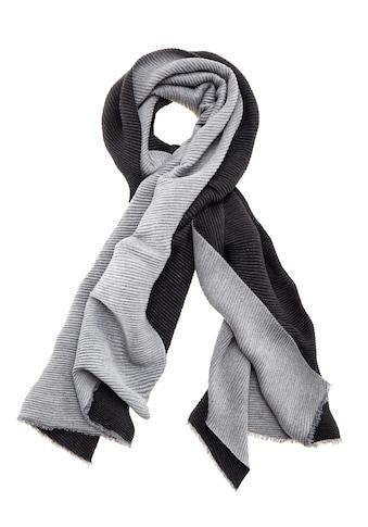 LASCANA Schal, XL-Modeschal zum Wenden aus softem, weichen Plissee-Material kaufen