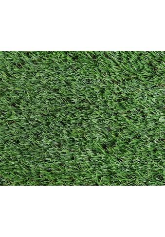 KONIFERA Kunstrasen »Trento deluxe«, rechteckig, 30 mm Höhe, UV-beständig, witterungsbeständig und wetterfest kaufen